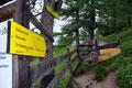 """Von der Talstation der """"Dachstein-Südwand-Seilbahn"""" folgten wir dem """"Dachstein Rundwanderweg"""" Richtung """"Dachsteinsüdwandhütte (1872m)"""".  Trotz des Sauwetters waren wir bestens gelaunt und hatten schon zu Beginn jede Menge Spaß."""
