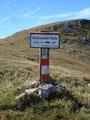 ... und schon befanden wir uns auf den letzten Höhenmetern zur Reichensteinhütte.