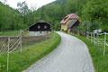 … zurück zu den ersten Häusern nach Effertsbach, …