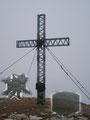… hinterher spazierte ich gemütlich zum wunderschönem Gipfelkreuz des 2043m hohen Stein am Mandl.