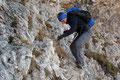 Mit klettertechnischem Geschick und Trittsicherheit stellte dies für meine heutige Bergpartnerin ebenfalls keinerlei Problem dar.