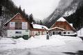 Die heutige Schneeschuhtour begann am Parkplatz des urigen und äußerst empfehlenswerten GH Sagwirt in Oberlaussa. Für uns OÖer ist diese Variante aus anfahrtstechnischen Gründen einfach die bessere.