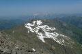 … der Fernblick über die Samspitze, Sandspitze und Zwerfenberg hinüber zum Dachsteinmassiv, oder ....