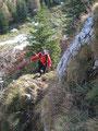 Die letzten Meter zum Gipfel des Vormauersteins.