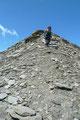 Schier endlos zogen sich die letzten Meter zum höchsten Punkt des Großen Bärenkopf.