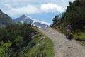 … es danach, mit einem letzten Blick auf den 3599m hohen SimilaunGipfel, …