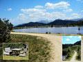 Aber auch dieser künstlich angelegte See direkt bei der Gasslhütte hatte einige nette Rastplätze anzubieten.