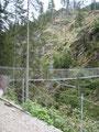 Eindrucksvoll konnte man den weiteren Wegverlauf sehen. Leitern, Brücken und wieder Leitern.