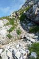 Steil angelegte Serpentinen ließen uns langsam aber sicher an Höhe gewinnen.