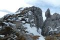 … steuerten schnurstracks auf den Gipfelaufbau des Hirschecks zu.