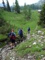 ... kamen wir unserem dritten Gipfelziel, dem Backenstein, immer näher.