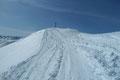 … geschmückten Gipfeldach des mächtigen Schafsiedel (2447m) empor.