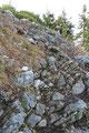 Einige letzte Felsstufen galt es noch zu bewältigen und …