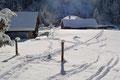 … zurück zum Ausgangspunkt. Kurzcharakteristika dieser Schneeschuhtour: Weglos auf einen unbedeutenden und einsamen Gipfel, der jedoch mit einer grandiosen Aussicht besticht. Lg. Wizi