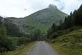 In gemächlichem Tempo wanderten wir entlang des breiten Fahrwegs Nr. 921auf der rechten Seite des Gschlößbachs weiter in den Talschluss hinein.