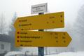 Anschließend folgten wir dem beschilderten Weg Nr. 19 Richtung Hochalm und Sonntagshorn.