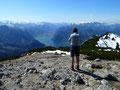"""Bei diesem toller Aussicht schmeckte der """"Gipfelsnack"""" natürlich noch viel besser!"""