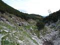 Den Rückweg zur Bergstation wollten wir über den Kaiserweg nehmen ...
