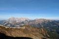 Nach einer guten Stunde ab Leobner konnten wir auch den zweiten Gipfel unserer heutigen Xeis-Tour abhaken. Abermals wurden wir mit einem beeindruckender Rundumblick belohnt. Gegenüber das Hochtor, die Hesshütte und das Hochzinödl.