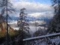 Immer wieder verharrte ich kurz und genoß das landschafliche, eindrucksvolle Panorama. Dieses Bildchen ist eines meiner Lieblingsbilder!