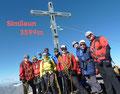 Alle strahlten vor Freude über die Besteigung eines der tollsten Aussichtsberge der Ötztaler Alpen. Fast grenzenlos präsentierte sich der Fernblick vom Ortler, Monte Zebru, Königsspitze bis zum Monte Cevedale – alles war zum Überblicken.