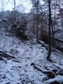 Der Schnee wurde immer mehr. Diese Tour nahm ich irgendwie her, um die morgige Tour auf den Nazogel (2057m) auszuloten.