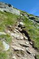 … das Gipfelkreuz schon in greifbarerer Nähe steigerte meine Motivation ums x-fache und ließ meine Schritte einfach schneller werden.