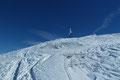 Nach einer weiteren ¼ Stunde kräfteraubenden Aufstieg konnte man das Wahrzeichen des 2093m hohen Salzkammerguts-Gipfel beinahe angreifen. Nur noch wenige Meter und es war vollbracht.