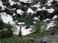 Der idyllisch in die Landschaft eingebettete Suissensee.