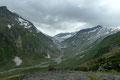 Mein Blick schweifte Richtung NO zum Obersulzbachtörl, von wo sich der Dorferbach seinen Weg ins Tal suchte.