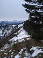 Jedoch war ich relativ rasch wieder bei der besagten Weggabelung angekommen und folgte nun dem Weg weiter zum dritten Gipfel des heutigen Tages.