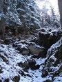 ... da die Felsen und Steine, vom der starken Frequentierung, zeimlich abgespeckt waren.