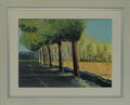 olie op canvasboard, 30 x 40