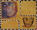 olie op doek, 50 x 60