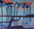 Bali, olie op doek, 50 x 60