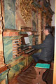 Peter an der Orgel