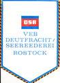 DSR - VEB Deutfracht/ Seereederei, Rostock (DDR)