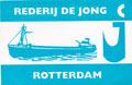 Rederi de Jong, Rotterdam