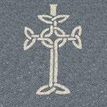 Zeichen Keltisches Kreutz aus Steinsplitt