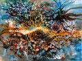 Racine - 2013 - 32 x 24 - encres aquarelle