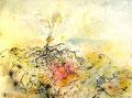 Haricot - 2013 - 32 x 24 - Encre, aquarelle