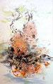 Germes - 2014 - 78x47 - Encres sur papier de riz marouflé