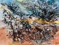 Racine (0) - 2013 - 32 x 24 - encres aquarelle