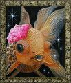 """一ノ瀬 京華""""Ichinose Kyoka""""2010,53.0×45.5cm Acrylic colors on canvas."""