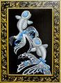 """雪乃&雪菜""""Yukino&Yukina""""2014,33.3×24.2cm,Acrylic colors on canvas."""