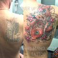 japan tattoo by Mauri Manolibera Tattoo - freehandtattoo / Mauri's Tattoo&Gallery, Borgomanero (Italia)