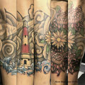 japan tattoo by Mauri Manolibera Tattoo - freehandtattoo / Mauri's Tattoo&Gallery, Borgomanero (Italia)