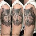 animal tattoo Mauri Manolibera Tattoo - freehandtattoo / Mauri's Tattoo&Gallery , Borgomanero (Italia)