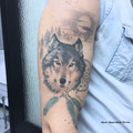 animal tattoo Mauri Manolibera Tattoo - freehandtattoo / Mauri's Tattoo&Gallery , Borgomanero (Italia)