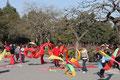 Morgengymnastik im Jingshan-Park